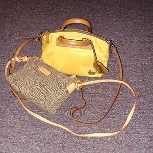 TWO Dooney & Bourke crossbody purses
